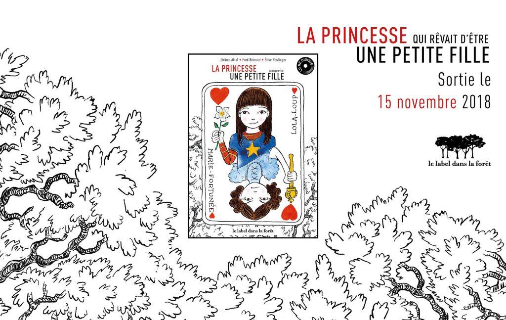 Livre disque La princesse qui rêvait d'être une petite fille