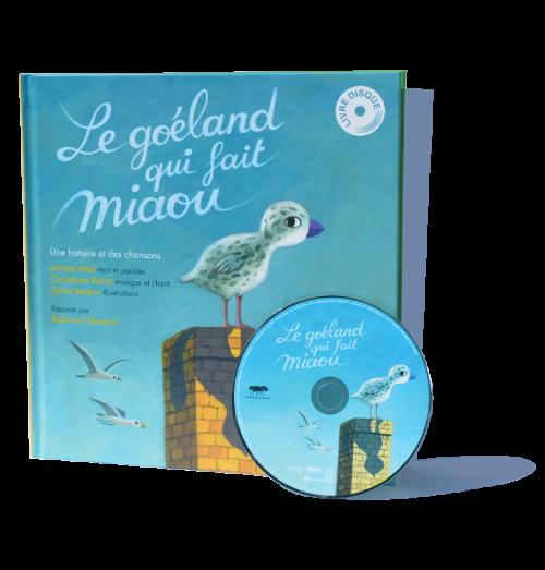 LE GOELAND QUI FAIT MIAOU - PACKSHOT WEB - le label dans la foret