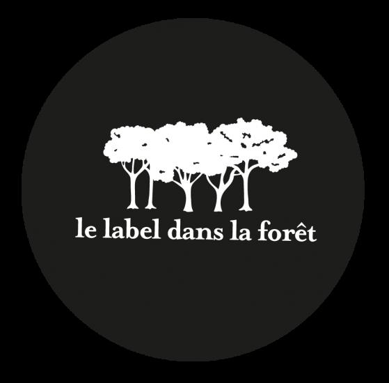 LE LABEL DANS LA FORET - LOGO ROND