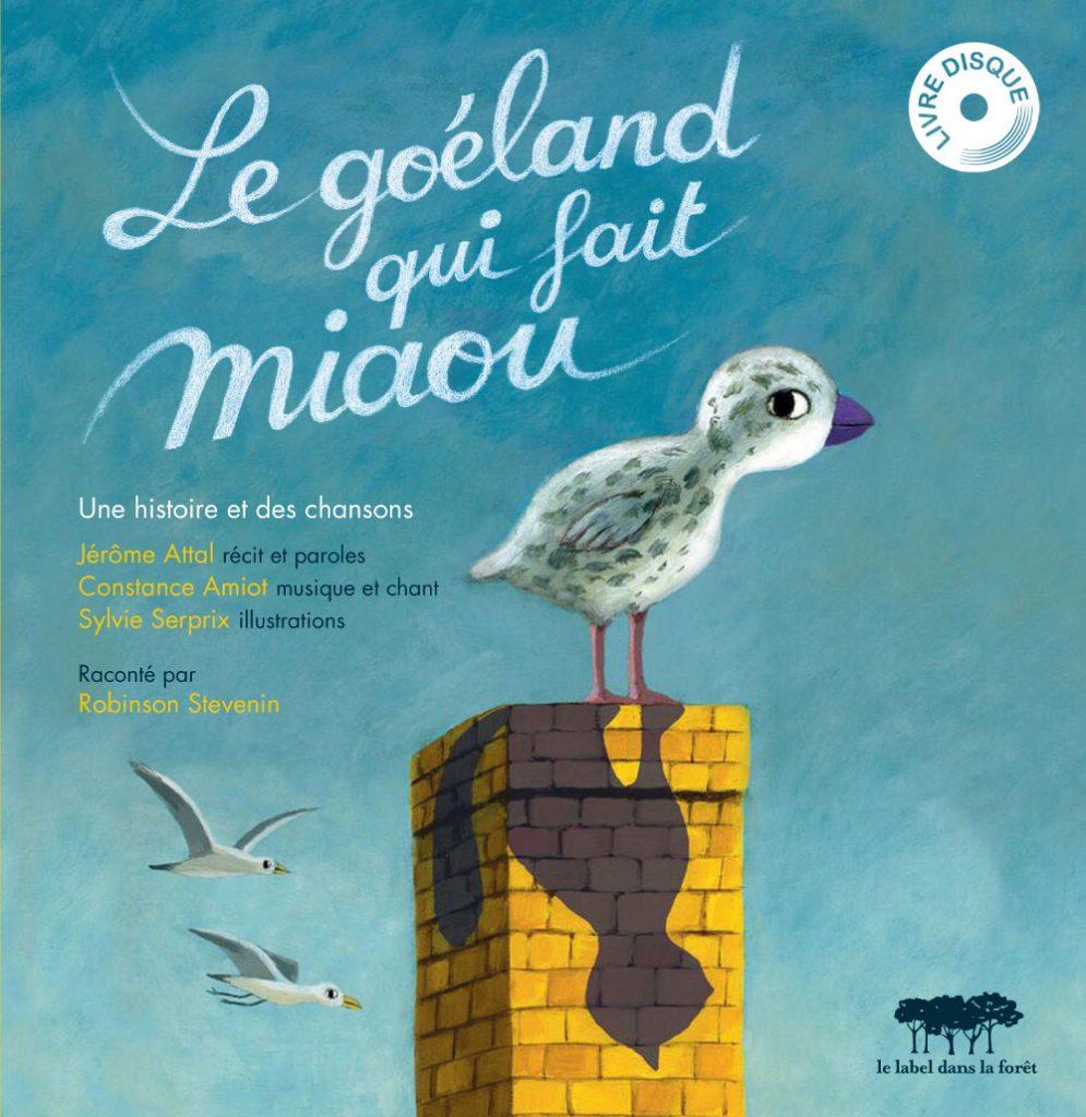 Le Goéland qui fait miaou- Livres-disques - Le label dans la foret