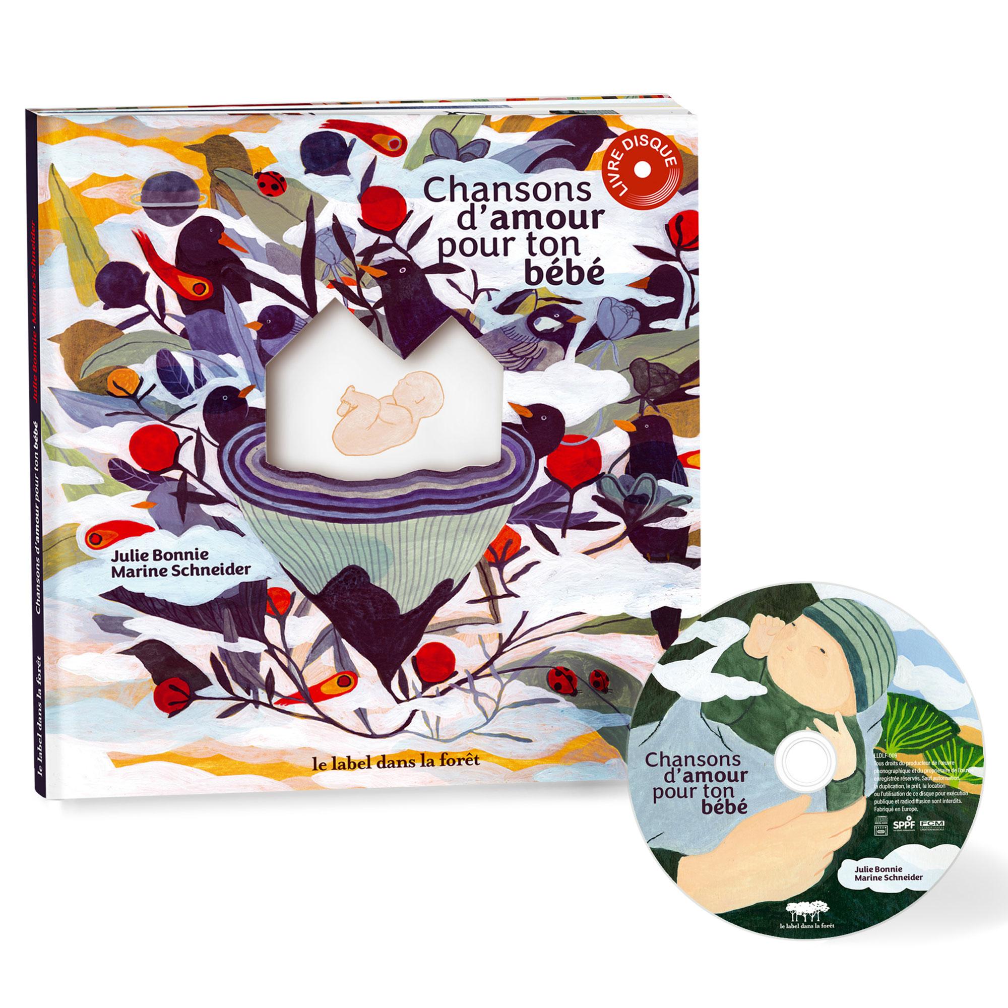 Le Label dans la Forêt - Chansons d'amour pour ton bébé - Julie Bonnie - Packshot