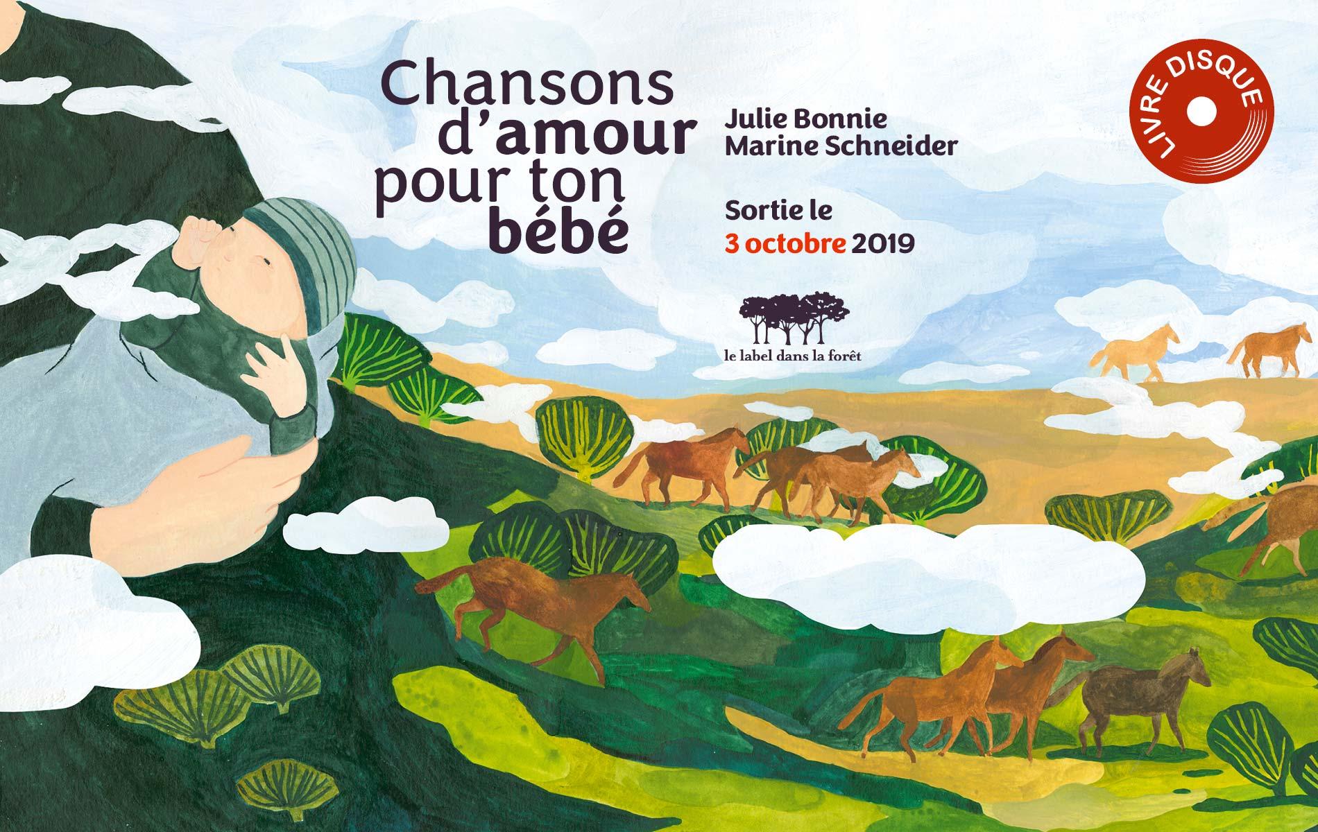Le Label dans la Forêt - Chansons d'amour pour ton bébé - Julie Bonnie - Slide