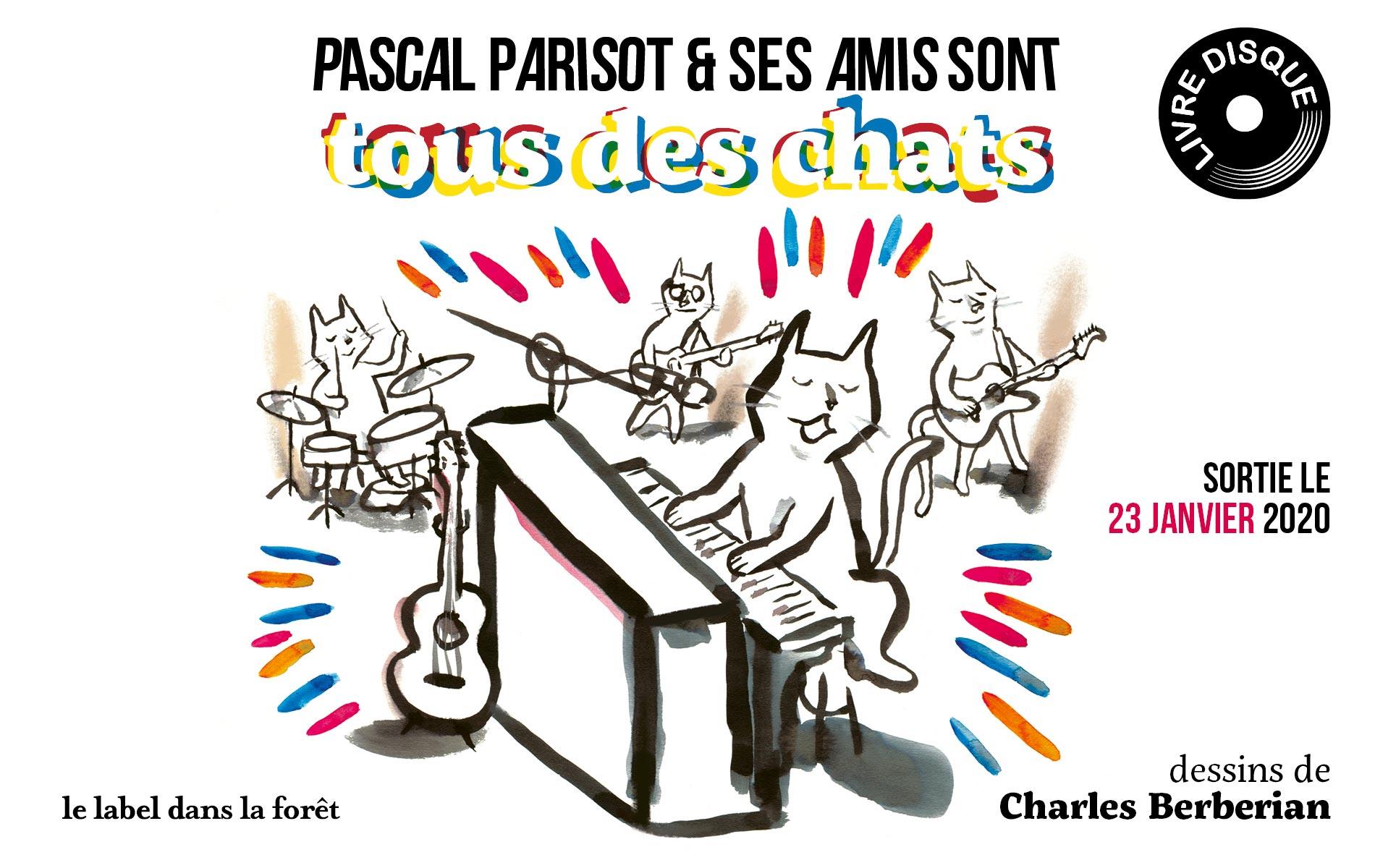 Le Label dans la Foret - Tous des Chats - Pascal Parisot - Slider
