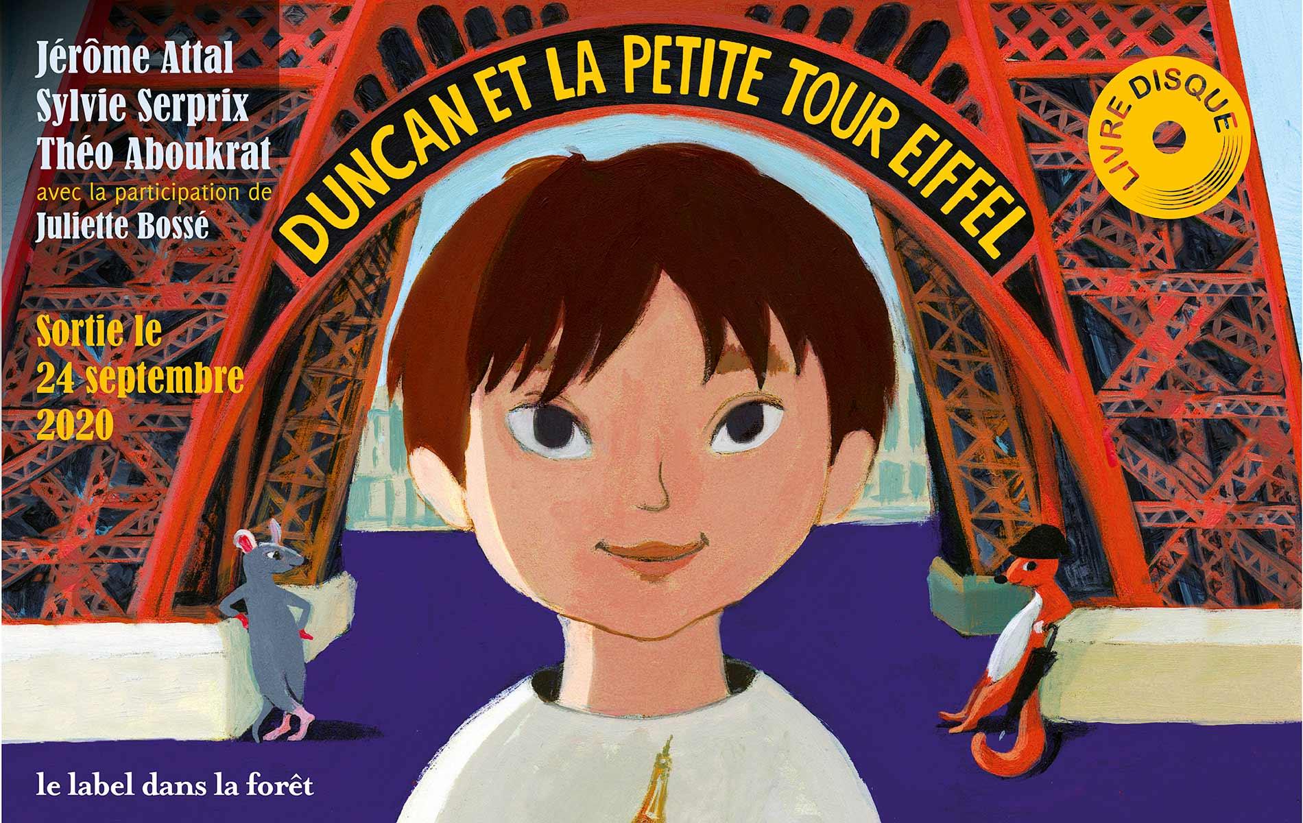 Le Label dans la Foret - Duncan et la Petite Tour Eiffel - Slider