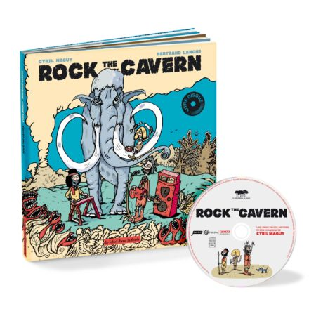 Le Label dans la Foret - Rock the Cavern - Cyril Maguy - Bertrand Lanche - Packshot