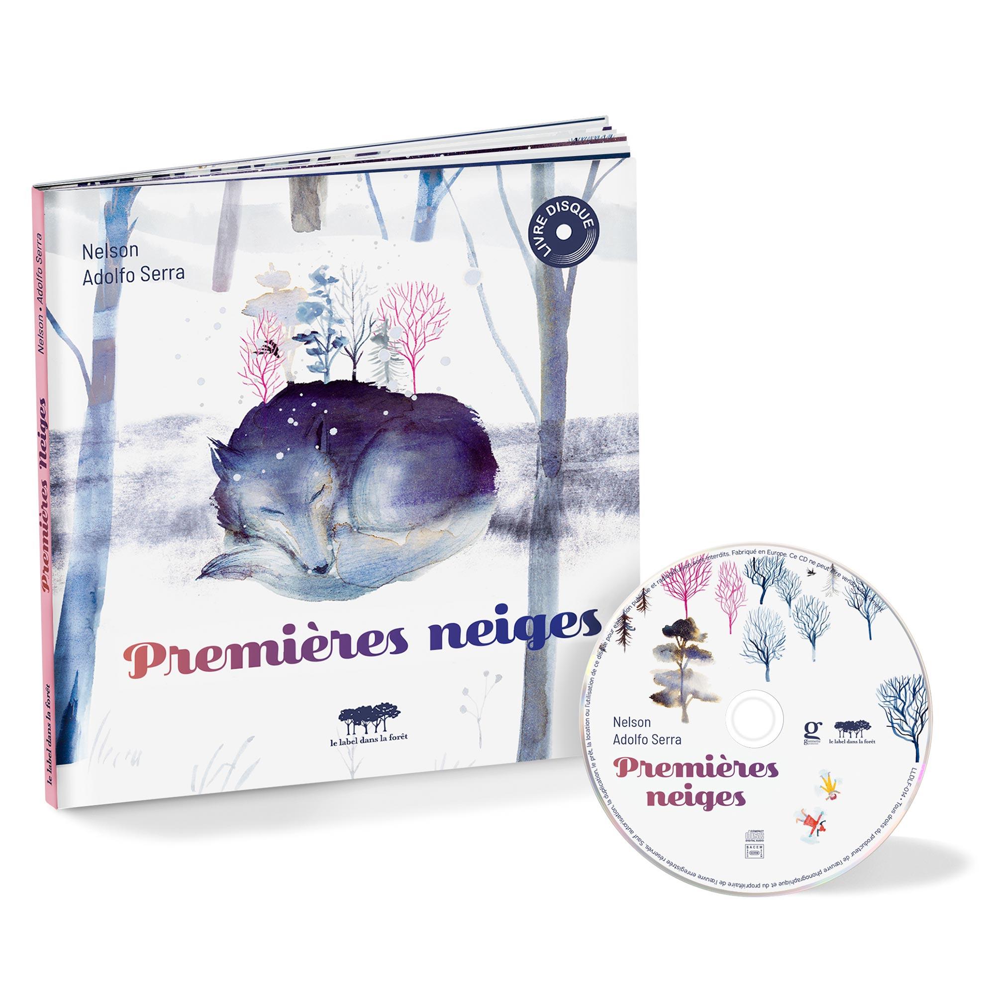 Le label dans la foret - Premieres Neiges - packshot