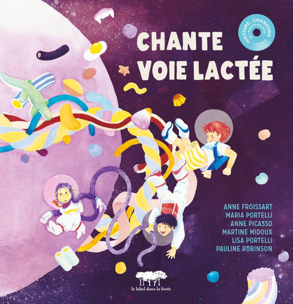Le label dans la foret - Chante Voie Lactée - Cover